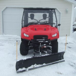 Big Red with orginal plow setup